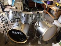 USED MAPEX V-series Drum kit
