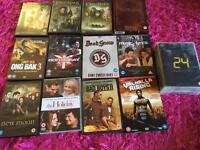 24 DVDs and a boxset