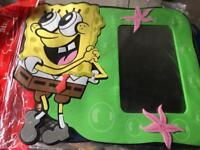 Job lot sponge bob stick on wall mirrors