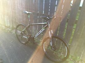 Mens Carrera Vulcan mountain bike