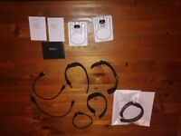 4 x fitbit charge and accesories (for parts)