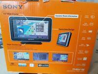 New Sony NV-U53 Sat Nav Unit