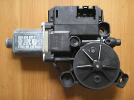 VW Polo Mk5 6R passenger side front electric window motor 6R0959801T Bosch 0130822531
