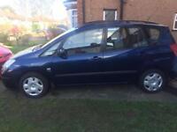 Toyota Corolla verso for £850