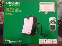New Sealed Schneider Thorsman 30W LED Site Work Light with PTP Power Take Off 240V IMT33104 Bargain