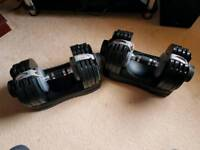 Bodymax adjustable dumbbells