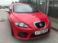 2006 SEAT LEON 2.0 DIESEL FR - 11 MONTHS MOT - REMAPPED WITH DPF REMOVED - HISTORY