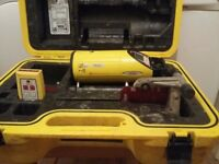 Leica piper 100. Laser level. For laying pipe or drainage. No battery or charger.
