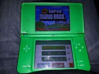 Nintendo DSi XL with Super Mario Bros