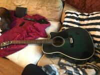 Yamaha acoustic FG-411C-MAB