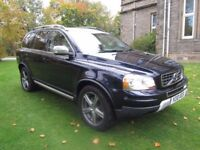 2010 Volvo XC90 R-Design SE AWD D5 Geartronic Automatic - 7 Seats - FSH - DVD - High Spec