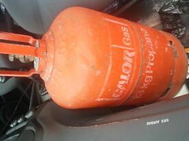 full 13 kg propane gas cannister FULL camping bbq caravan