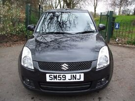 Suzuki Swift 1.5 GLX Auto 5dr 3 MONTHS NATION WIDE WARRANTY 2010 (59 reg), Hatchback