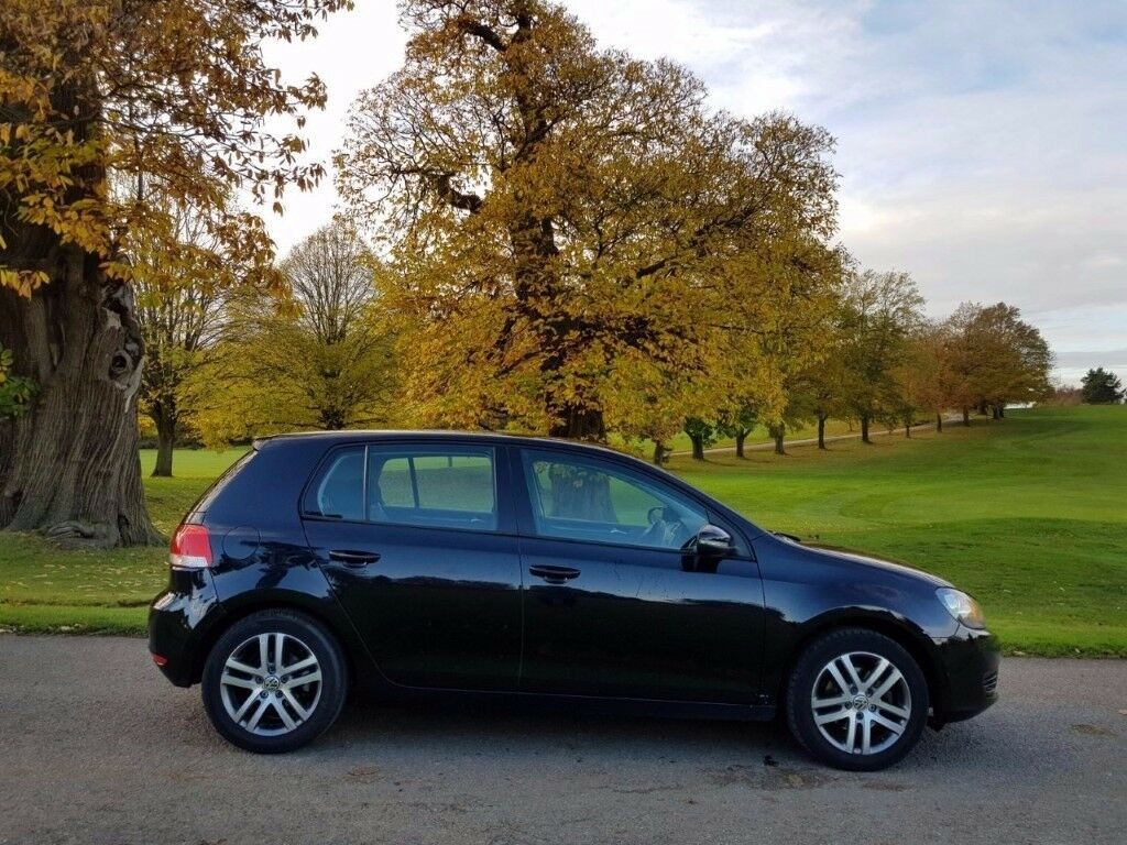 VOLKSWAGEN GOLF 2009/09 TDI CR SE 5DR MANUAL BLACK AUX CRUISE ISOFIX FSH £3250!!!! HPI CLEAR!!!!