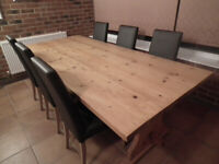 Country Style Kitchen Dining Table
