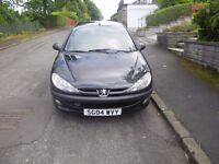 peugeot 206 1.4 hdi eco low mileage