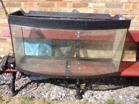 Juwel convexed Fish tank 45 cm out length 120 cm