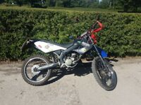 2009 Derbi Senda R X-race 50. Full MOT