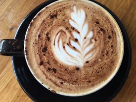 Independent Record Cafe looking for an experienced Supervisor with Barista and food handling skills