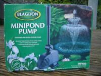 Garden Pond Pump - Brand New