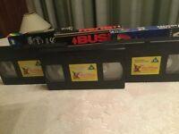 15 VINTAGE CHILDRENS VHS CASSETTE TAPES