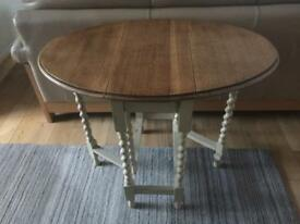 Shabby chic folding table