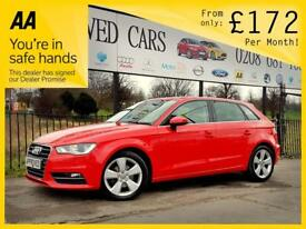 AUDI A3 2.0 TDI SE 5d 148 BHP Apply for finance Online today! (red) 2014