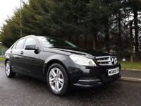 OCTOBER 2013 MERCEDES-BENZ C220CDI EXECUTIVE SE BLUEEICIENCY 6SPEED MANUAL OUTSTANDING LOW MILEAGE !