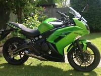 Kawasaki er6f 2014 63 reg