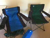 Hi Gear Maine Camping Chairs (2 off)