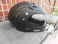 Stealth motocross helmet