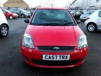 57 PLATE FORD FIESTA 125 STYLE 3DR 1 OWNER 12mths mot