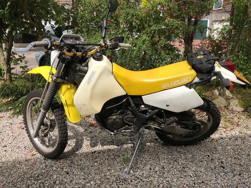 Miraculous Suzuki Dr350 Trail Overland Bike With Extras In Aberdeen Gumtree Camellatalisay Diy Chair Ideas Camellatalisaycom