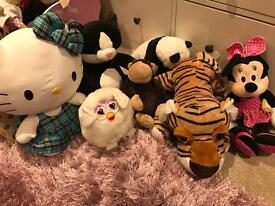 Soft toys hello kitty Minnie Mouse