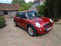Mini One Seven. 37,000 Miles. Service History Red. Very Good Condition. Alloys, Air Con.