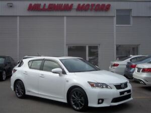 2012 Lexus CT 200h HYBRID / F-SPORT / LEATHER / SUNROOF