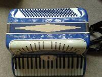 Ladies 120 bass Gaudini Piano Accordion