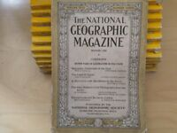 Original THE National Geographic Magazines 1926 and 1953-55