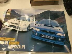 Porsche, Lotus, Volvo, Subaru Posters