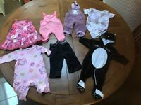 GIRL BBAY CLOTHES 3-6 M