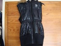 Black Adidas Bodywarmer Jacket