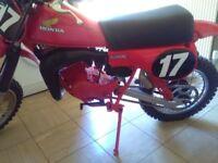 Honda cr 80,(CLASSIC RED ROCKET,PX OR SWAP) SWAP) SWAP) SWAP)SWAP)SWAP