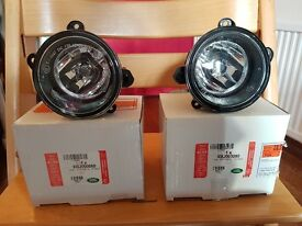 Genuine Land Rover D2 / D3 / RR Sport / L322 fog lights - pair