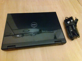 Dell Vostro 1510 laptop, Core2Duo, 4GB RAM, 250GB HDD, charger