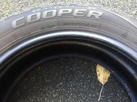 Winter tyres - Cooper M+S 225/55R18 x4