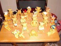 Set of 21 China Teddy Bears