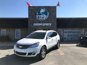 2017 Chevrolet Traverse LOOK 7 PASSENGER LT! FINANCING AVAILABLE
