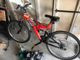 Youths mountain bike