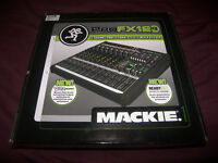 Mackie ProFX12 V2 , Professional Mixer + USB Recording Interface for Mac or PC / Brand New !