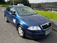 Rossendale Hackney Plated Taxi 2008 Skoda Octavia 2.0 tdi for sale
